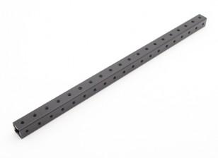 RotorBits Pre-Drilled Anodized Aluminum Construction Profile 200mm (Black)