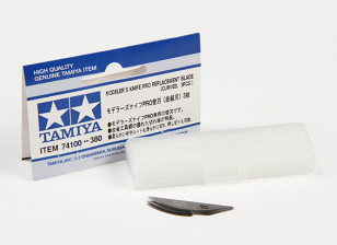 Tamiya Modeler's Knife Pro - Curved Blade Set (3pc)
