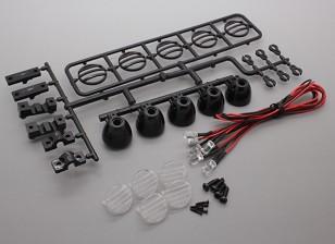Hobbyking LED Light Bar Set (Black)