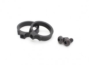 Element EX311 LR Tactical Flashlight Mount rings 0.914inch (Black, 2pcs/pack)