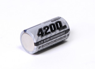 Turnigy Rechargeable Sub-C 4200mAh 1.2V NiMH High Power Series