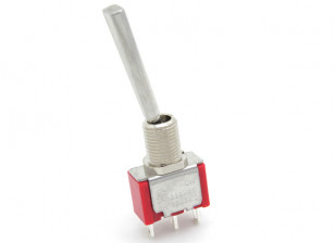 FrSKY Replacement 2 Position Long Switch with FLat Toggle for Taranis Transmitter