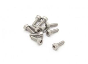 Titanium M2 x 6 Sockethead Hex Screw (10pcs/bag)