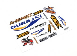 HobbyKing Sticker Sheet - Plane