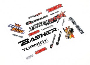 HobbyKing Sticker Sheet - Cars