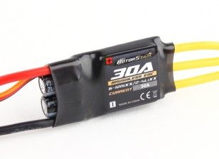 RotorStar 30A (2~4S) SBEC Brushless Speed Controller