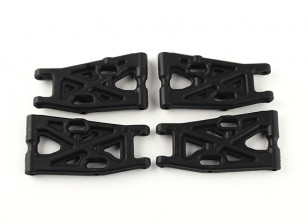 F/R Lower Susp. Arms Set (4pcs) - 4WD Nitro T / 1/16 Mini Monster Trucks