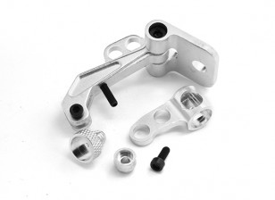 FPV Monitor Mounting Bracket/Silver DJI Version (with CG Adjustment)