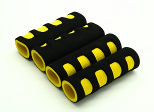 EVA Foam Gimbal Handle Yellow/Black (107x34x22mm) (4pcs)