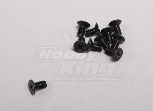 Screw Countersunk Phillips M5x10mm (10pcs/pack)
