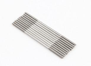 M2x55mm Stainless Steel Push Rods (LH & RH Threaded) (10pcs)
