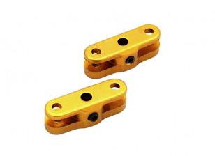 25mm Folding Propeller Adapter for 3.17mm Shaft (Gold) 1 Pair