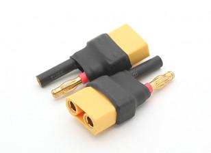 HXT 4mm Bullet to XT90 Battery Adapter (2pcs)