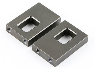 Optional Servo Mounts (Titanium) - BSR Racing BZ-888 1/8 4WD Racing Buggy