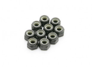 BSR Racing M.RAGE 4WD M-Chassis - M3 Nuts (10pcs)