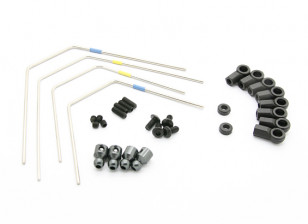 BSR Racing M.RAGE 4WD M-Chassis - Option Sway Bar Set (F&R)