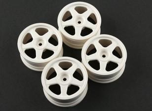 Team Sorex 24mm 5 Spoke Wheel 0mm Offset (4pcs)