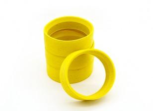 RiDE 1/10 Touring Molded Inner Foam - Yellow - Soft (4pcs)