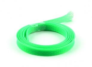 Wire Mesh Guard Neon Green 8mm (1m)