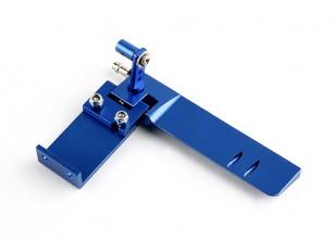 HobbyKing™ Aluminum Marine Rudder Assembly (Blue)