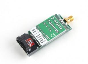 ImmersionRC 700mW 2.4GHz Audio/Video Transmitter (US Version)