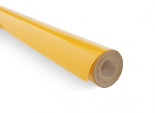 Covering Film Solid Amber (5mtr) 106