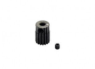 Hobbyking™ 0.5M Hardened Steel Helicopter Pinion Gear 3.17mm Shaft - 16T