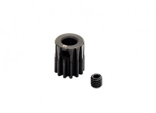 Hobbyking™ 0.7M Hardened Steel Helicopter Pinion Gear 5mm Shaft - 13T