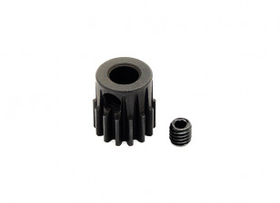 Hobbyking™ 0.7M Hardened Steel Helicopter Pinion Gear 5mm Shaft - 14T