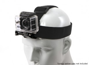 Adjustable Elasticated Head Strap For GoPro / Turnigy Action Cam