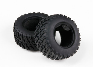 H-King Sand Storm 1/12 2WD Desert Buggy - Tire set w/foam insert (2pcs)