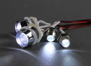 GT Power 4 Piece Super Bright LED Lighting Set for RC Cars
