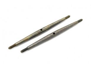 TrackStar 1/10 Spring Steel Turnbuckle M3x80 (2pcs)