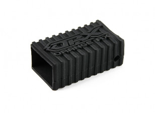 OrangeRx Silicone Rubber Shell for R620 Series Receivers (Black)