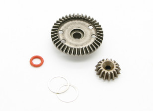 16T/40T Diff. Gear - BZ-444 Pro 1/10 4WD Racing Buggy