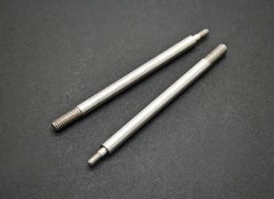 Rear Shock Shaft - Basher SaberTooth 1/8 Scale Truggy Nitro (2pcs)