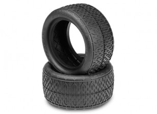 JCONCEPTS Bro Codes 1/10th Buggy Rear Tires - Gold (Indoor Soft) Compound