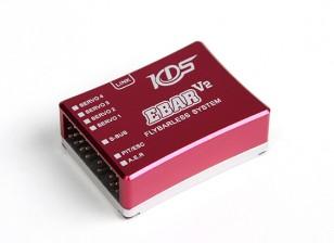 KDS Ebar V2 Flybarless Flight Control System With Program Card