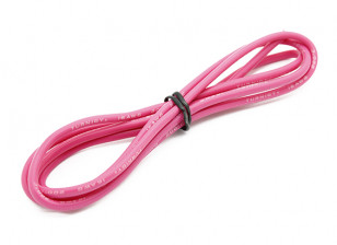 Turnigy High Quality 16AWG Silicone Wire 1m (Pink)