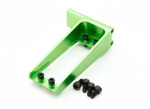Assault 450L Flybarless 3D Helicopter CNC Rear Tail Servo Mount (Green)