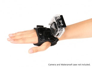 Adjustable Glove Mount For GoPro or Turnigy Action Cams (Small)