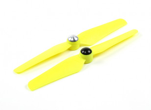 5 x 3.2 Self Tightening Propeller for Multi-Rotor CW & CCW Rotation (1 Pair) Yellow