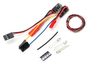 2-in-1 ESC w/LED Light Set - OH35P01 1/35 Rock Crawler Kit