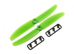 Gemfan 5040 GRP/Nylon Propellers CW/CCW Set (Green) 5 x 4