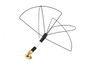Circular Wireless Skew Planar Wheel Antenna for 1.2GHz Transmitters (RHCP SMA)