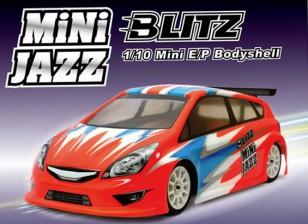 BLITZ Mini Jazz 1/10 EP Body Shell (225mm) (0.8mm)