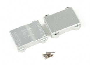 CNC Aluminum Protective Case For Naza Flight Controller (Silver)