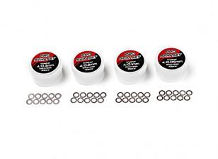 TrackStar Pro Shim Set - Inner 4mm (10pcs)