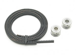 Turnigy Mini Fabrikator 3D Printer v1.0 Spare Parts - Timing Belt & Pulley