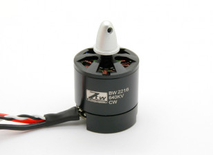 Black Widow 2216 640KV With Built-In ESC CW